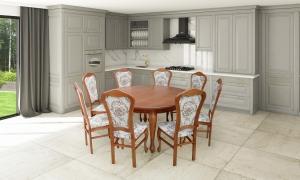Stół Z Krzesłami Do Jadalni Salonu Kuchni Meble Liderpl